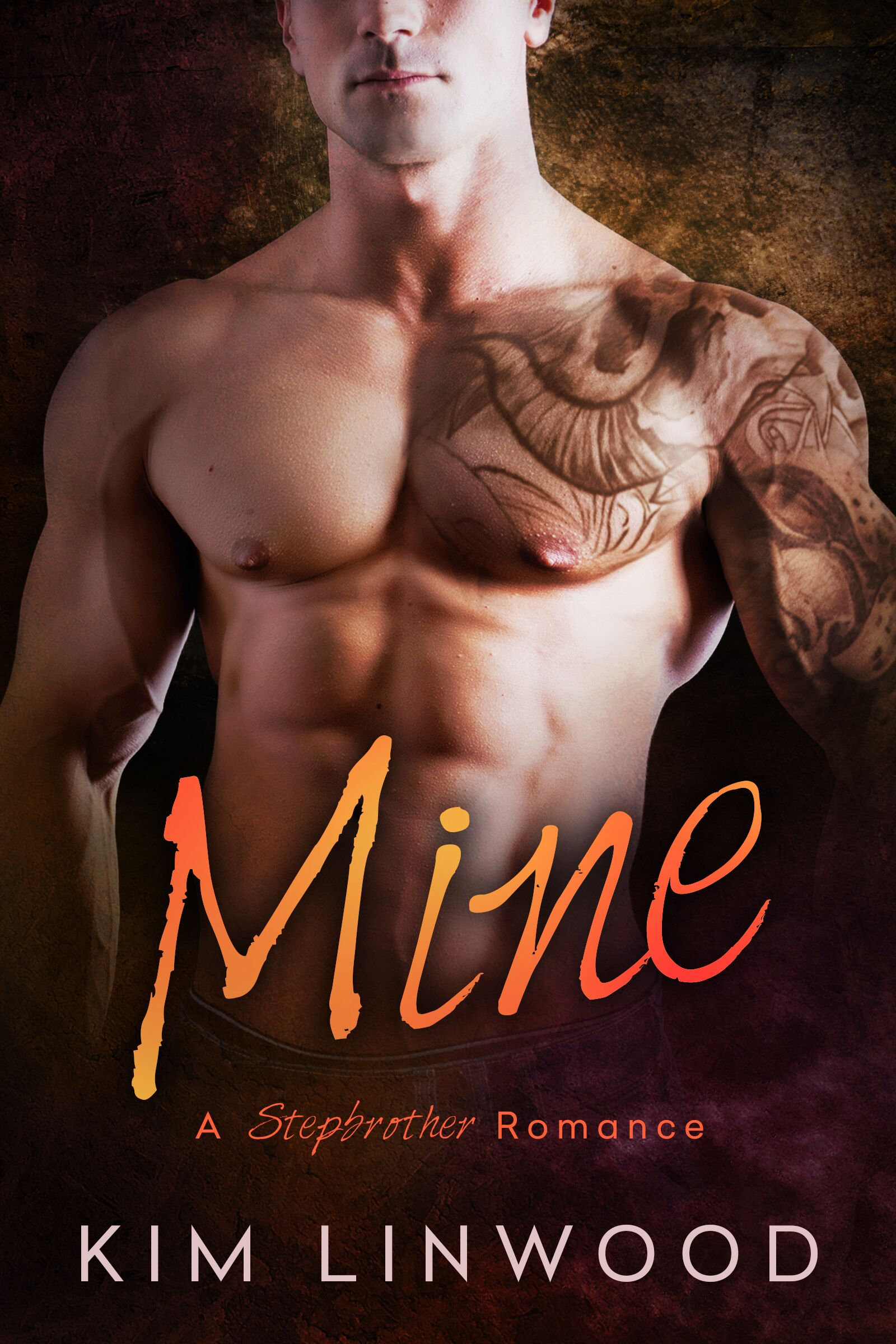 Cover of Mine: A Stepbrother Romance